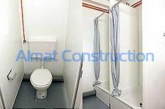 Bathrooms for modular constructions and mobile