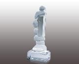"Crystal award ""1 place"