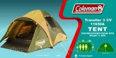 Tent 3-seater Coleman Traveller 11650A