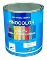 Synthetic PINOCOLOR dye. Color light oak