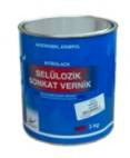 Nitrocellulose glossy varnish of 3 kg.