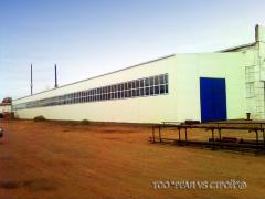 Строительство металлических ангаров, складов,