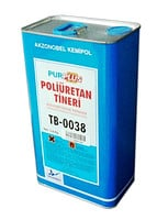 Thinner of POLIURETAN of 3 l.