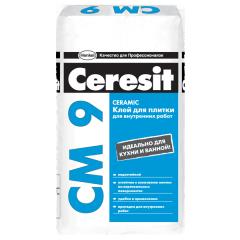 Клей плиточный CERESIT CM 9 на цементной основе