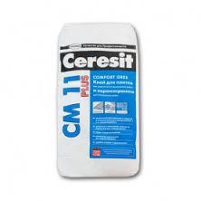 Клей плиточный CERESIT CM 11 PLUS на цементной