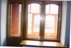 Wooden windows from the producer Petropavlovsk