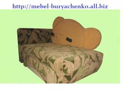 Мягкая детская мебель Диванчик -мишка в Астане