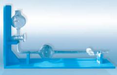 Burette special for measurement of volume of BSG