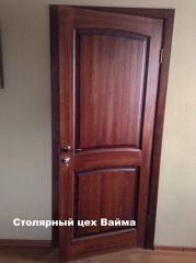 Wooden doors for rooms from the producer