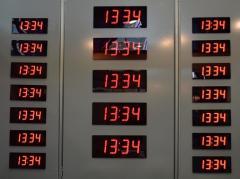 Master clocks (Hour station)