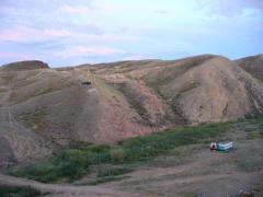 The field of a volcanic tufa zeolite is on sale.