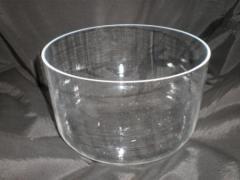 Crucibles are quartz low, 80 ml