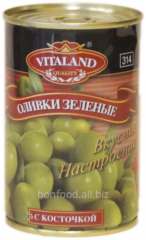 Npitted olives, 314