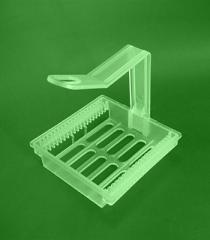 Штатив-рамка-держатель для окраски препаратов на
