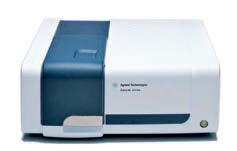Spectrophotometer of visible and ultra-violet