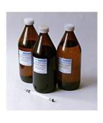Heptane of 0,7 kg, GOST 25828-83 standard.