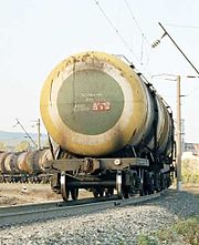 Cars for transportation of oil products (Lease of