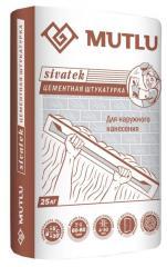 "Plaster cement MUTLU ""SIVATEK"