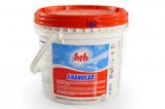 GRANULAR Хлор в гранулах hth (Франция)
