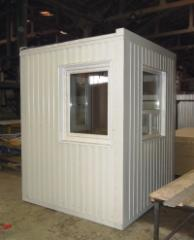 Module containers folding household and industrial