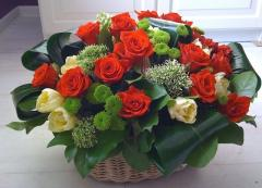 Svezhesrezanny flowers. Available and to order.