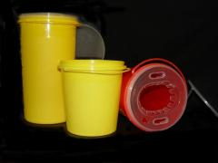 Bucket for medical waste from the producer