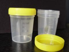 Jars for analyses disposable