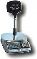 Scales are electronic trade