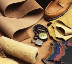 Genuine leather, products leather