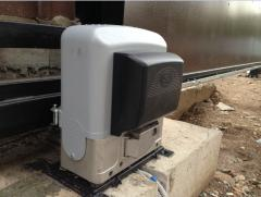 Automatic equipment for retractable gate of BK -