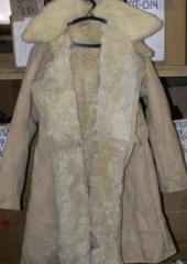 Sheepskin coats are military