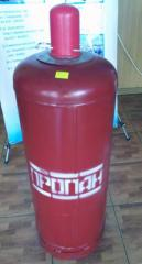 Cylinder of gas household 50 l