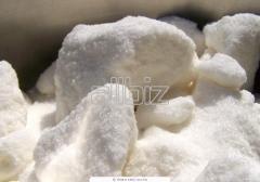 The granulated sugar refined