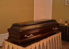 Coffins. Coffins by the individual order