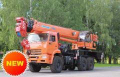 """Автокран """"Клинцы"""" КС-65719-5К"""