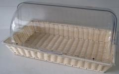 Bread box for buffet receptions and cookery