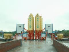 The 25 m3 concrete plant in hour
