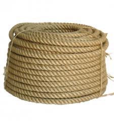 Rope jute (hempen) diameter - 6, 8, 10, 12, 14,