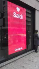 LED - экраны для витрин магазинов и бутиков