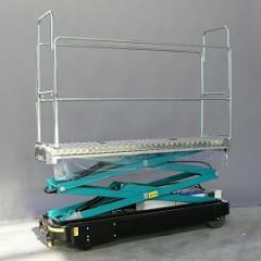 Hydraulic trubo-rail carts of the Benomic series