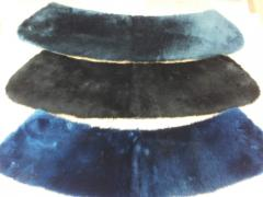 Products from natural fur - collars