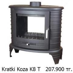Топки каминные  Kratki Koza K8 T