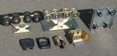 Console accessories for retractable gate to 6 m