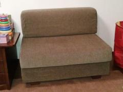 Cover on sofa