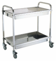 The cart for collecting ware