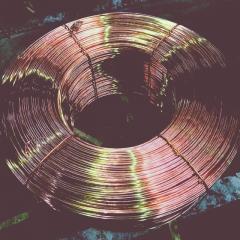 Rod iron copper
