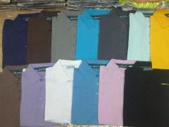 Polo t-shirts from the producer