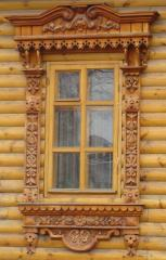 Windows carved wooden from the producer