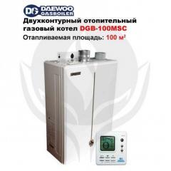 Котел газовый настенный DAEWOO DGB-100