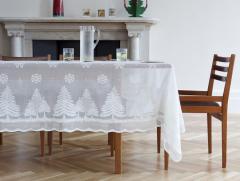 Snowflake 10201-ivory cloths